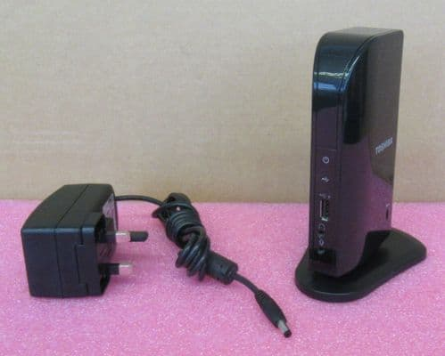 Toshiba Dynadock V10 USB DVI-I Mini Port Replicator Docking Station PA3778E-1PRP